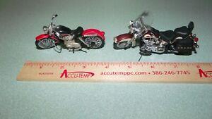 1:24 SOFTAIL & SPORTSTER FRANKLIN MINT HARLEY DAVIDSON MOTORCYCLE