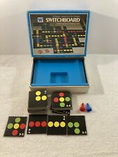 1976 Switchboard Whitman Board Game Incomplete (Missing 2 Tokens, Dice, 7 Tiles)