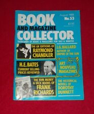 BOOK AND MAGAZINE COLLECTOR NO.53 AUGUST 1988
