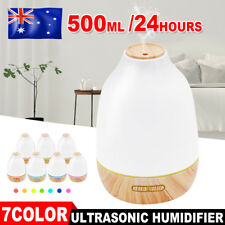 Aromatherapy Essential Oil Ultrasonic Aroma Air Diffuser Light Lamps Humidifier