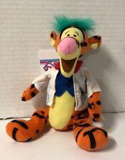 Disney Store Mini Bean Bag Plush Mad Scientist Tigger 9'' With Tag