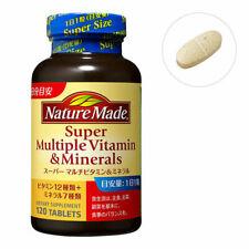 ☀OTSUKA Nature Made Super Multals Vitamins & Minerals 120 tablets 120 days Japan