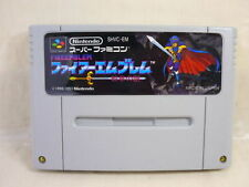 Super Famicom FIRE EMBLEM Mystery of the Emblem Video Game Cartridge Only sfc