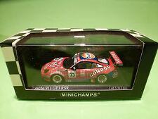 MINICHAMPS 1:43 PORSCHE 911 GT3 RSR - GORDON No 73 - LAMBERT  SPA 2005 - MIB