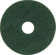 More details for 15in standard speed floor pad green (pack of 5) 102603