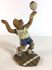 Boyds Bears Pat B. Bruin - On the Line # 228385 - Bearstone USA Soccer Player