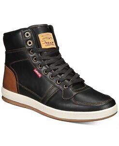 Levi's Men's Stanton Moc-Toe High-Top Lace-Up Sneakers 9.5, 11, 10