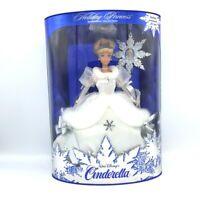 Vtg 1996 Walt Disney Holiday Princess Cinderella Doll #16090 NRFB MIB Mattel