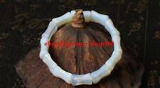 Natural Beautiful Sri Lanka White Moonstone Opal Bracelet 7''
