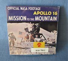 SUPER-8-FILM VERSCHWEISST !! APOLLO 16 NASA MISSION TO THE MOUNTAIN MONDLANDUNG