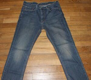 LEVIS 514  Jeans pour Homme W 36 - L 30 Taille Fr 46  (Réf # O406)