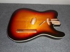 NEW - Fender Tele Body, Alder, White Binding - 3-TONE SUNBURST, #TBF-3SBB