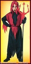 Childs DEVIL ROBE COSTUME Lucifer Halloween Horror Spooky Party Approx size 5-8