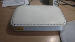 Netgear 54 Mbps Wireless ADSL Modem Router BG834GSP v3, Colour White