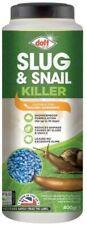 Doff 400g Slug Snail Killer Organic Mini Blue Pellets Large Bottle Shower Proof