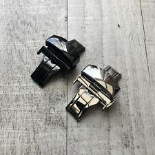 Watch Strap Bracelet Stainless Steel Band Butterfly Deployment Buckle 20mm 22mm