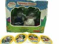 Calico Critters Sylvanian Families Evergreen Bear Family Rare Retired New In Box