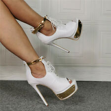 Ladies High Heels Platform Strap Stiletto Sandal Nightclub Party Sexy Shoes
