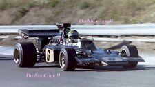 Reine Wissel JPS Team Lotus 72D Canadian Grand Prix 1972 Photograph 2