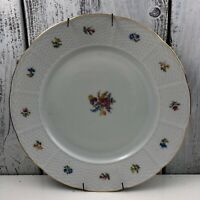 "BEAUTIFUL VINTAGE  THUN CZECHOSLOVAKIA 12"" D SERVING PLATTER Good Used Condition"