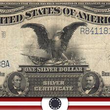 "1899 $1 SILVER CERTIFICATE ""BLACK EAGLE"" Fr 236   R84118188A"
