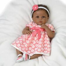 "SO TRULY ASHTON DRAKE SERENA'S SUNDAY BEST 18"" BABY DOLL BY LINDA MURRAY"
