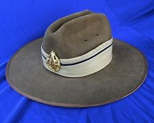 RAAF Slouch Hat with Pugaree and Badge