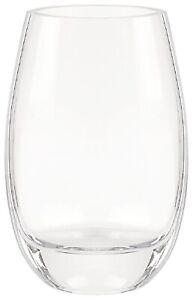 "Badash Crystal Crescendo Oval Vase, 9"" (K940)"