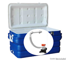 SEAFLO Portable 12 Volt Livewell Aeration Bucket or Cooler Pump Ice Box Chest