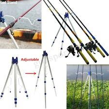 Outdoor Sea Beach Telescopic Fishing Rod Tool Holder Rest Tripod Stand Support