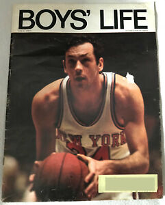 1970 Boys Life New York Knicks Bill Bradley October Cover