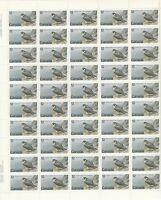 752 FALCON FULL INSCRIPTION SHEET  OF 50