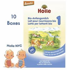 Holle Stage 1 Organic Formula, 10 Boxes, 400g, 01/2019 Free Shipping