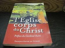 Patrick de LAUBIER: l'Eglise corps du Christ