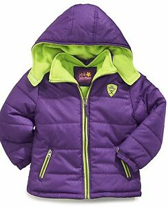 Toddler Girls Pink Platinum Puffer Coat ~ Pick Your Color & Size ~ New With Tags