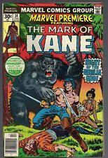 MARVEL PREMIERE # 34 / 1977 / MARVEL US-Comics / THE MARK OF KANE