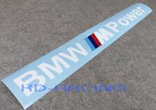 BMW M Power Windshield Decal Sticker M2 M3 M4 M5 Z4 X5M Free Shipping x 1 pc