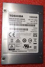 "1.92TB 1920GB Toshiba THNSN81Q92CSE Enterprise SSD 6GB/s 2.5"""