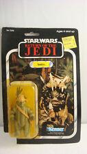 Ewok TEEBO - Star Wars by Kenner 77 Card Back 1983 MOCC ROTJ  Mint