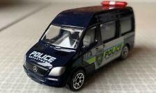 Realtoy Diecast Toy Car - Mercedes Benz Sprinter Van - Police Dept - Scale 1:74