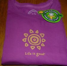 Life is Good Celestial Sun Womens S T-Shirt
