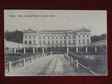 DESIO Villa Traverso Tittoni - animata,viaggiata,1915 #15101
