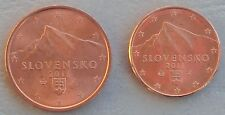 1+2 Euro Cent Slowakei 2011 unz
