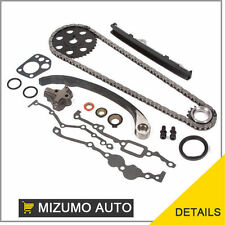 Timing Chain Kit Fit 89-97 Nissan 240SX Pick Up 2.4L SOHC KA24E