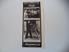 advertising Pubblicità 1940 BOMBON BIANCANEVE ELAH e AMEDEO GOX