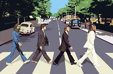 The Beatles Abbey Road Canvas  Art Print