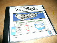 1969 1970 1971 FORD TORINO F-100 LTD CUSTOM 500 FMX TRANS SHOP MANUAL CD-ROM