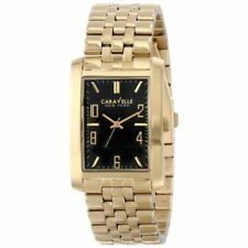 Caravelle New York Men's 44A103 Gold-Tone Stainless Steel Watch