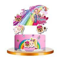JOJO SIWA CAKE TOPPER TOPPERS CUPCAKE BALLOON SUPPLIES DECORATIONS CAKE BOX
