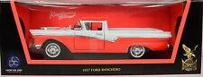 Ford Ranchero Baujahr 1957 orange-weiß Maßstab 1:18 von Road Signature